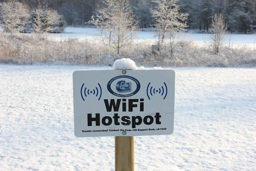 QR Codes and Wi-Fi Hotspots