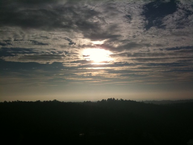 Skies over Oroville