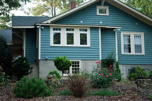bungalow back exterior