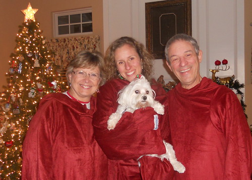 Snuggie Christmas Card