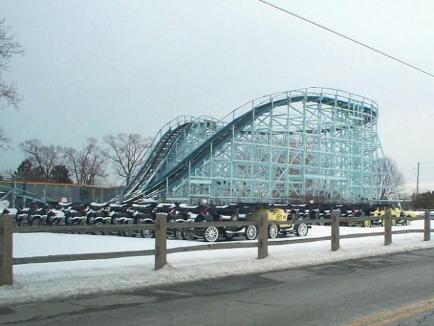 Cedar Point - Off-Season Cadillac Cars