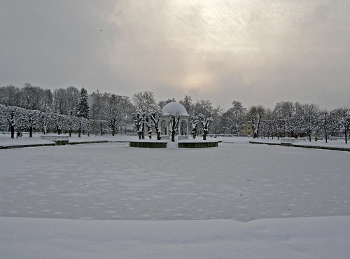 Tallinn, Estonia: Kadriorg Park in winter
