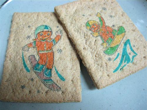 Kellogg's Limited Edition Gingerbread Printed Fun Pop-Tarts Top