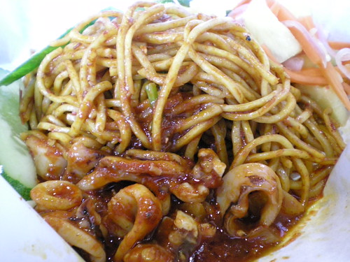 KLIA mee mamak with sotong
