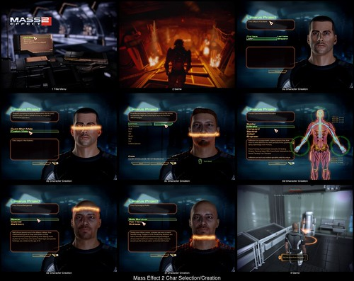 Character Creation in Mass Effect 2
