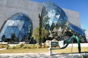 Salvador Dali Museum with Glass Enigma, Jan. 14, 2011