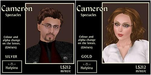 Hatpins - Cameron Ads