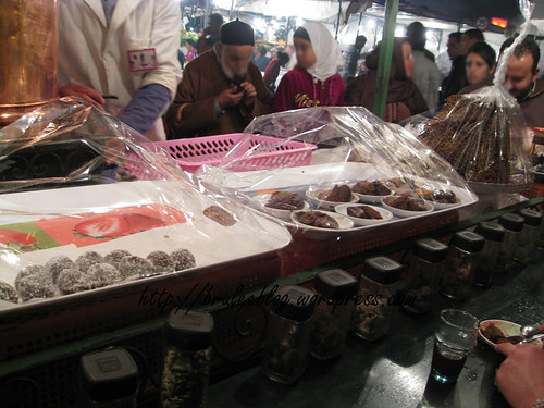 desserts and spices