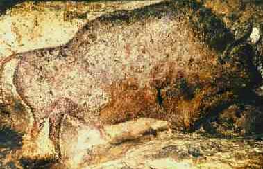 Bison at Font de Gaume