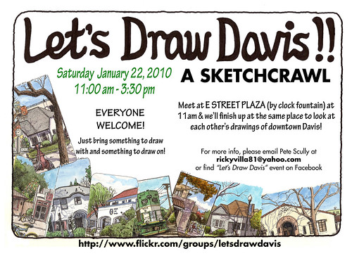 let's draw davis on january 22