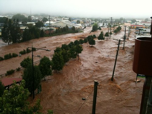 Toowoomba flood 2011