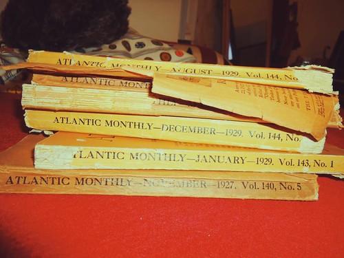 Atlantic Monthly - 1920s