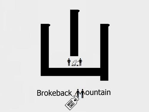 New Chinese Character - Brokeback Mountain