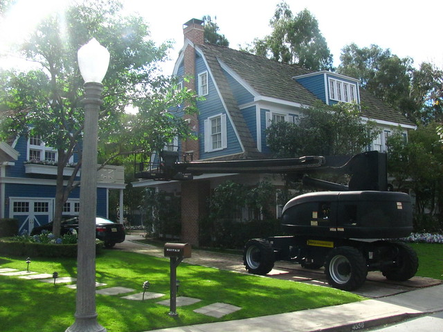 The Van de Kamp House on Wisteria Lane on the Universal Studio Tour
