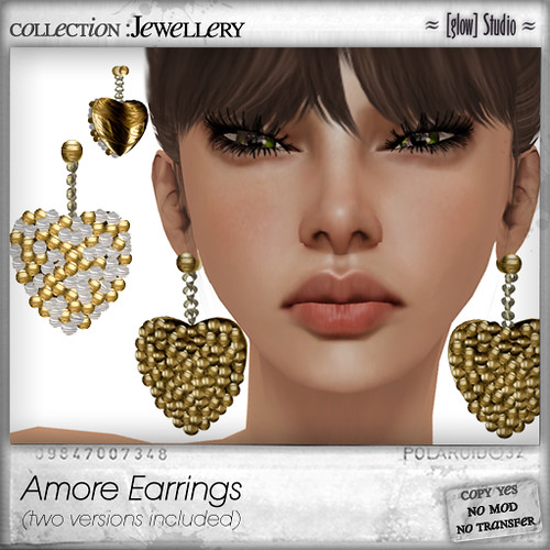 [ glow ] studio Amore Earrings