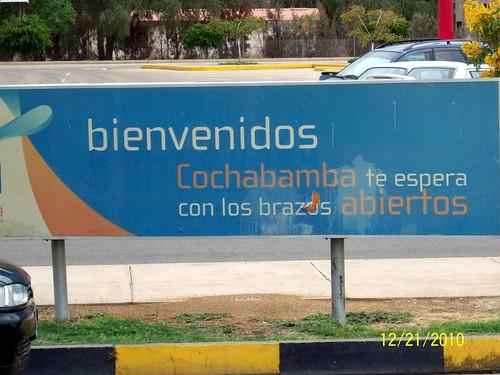 Welcome to Cochabamba!