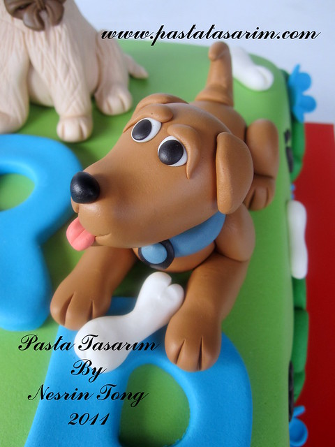 DOGS CAKE - SARP BIRTHDAY