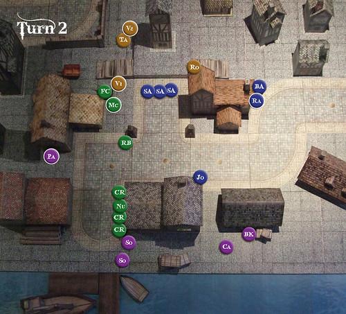 Battle Report - Turn 2