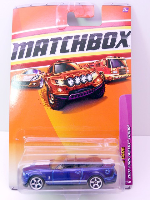 matchbox 2007 ford shelby gt500 (1)