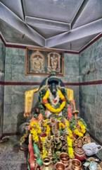 Adorned Krishna at Patanjali Temple-Bellur India