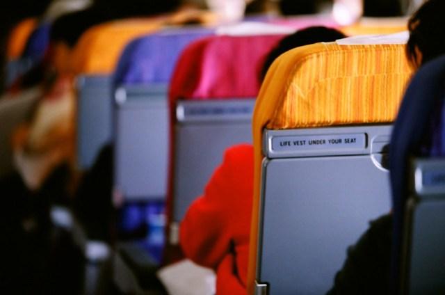 泰國航空的座椅也十分的有泰國風味啊!