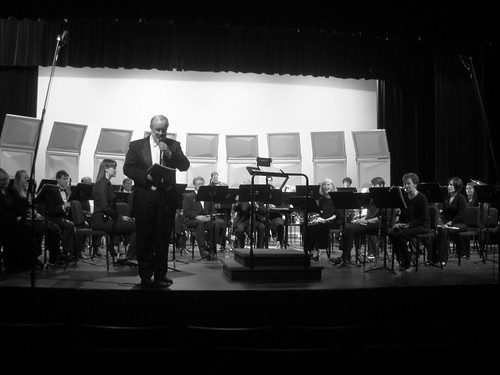 Cascade Winds Symphonic Band, directed by Dan Judd
