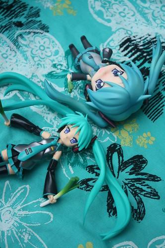 69/365- Lucky Star x Vocaloid Figures