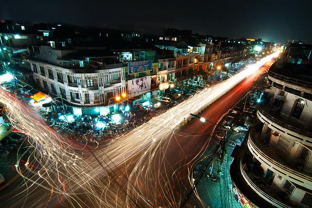 Charles de Gaulle Blvd. Phnom Penh