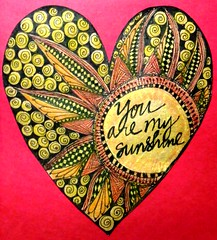 Art Journal Every Day: You are my sunshine