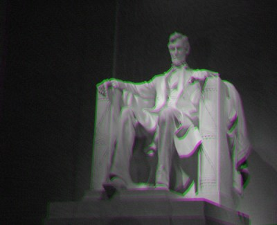 Lincoln MG Fake Anaglyph