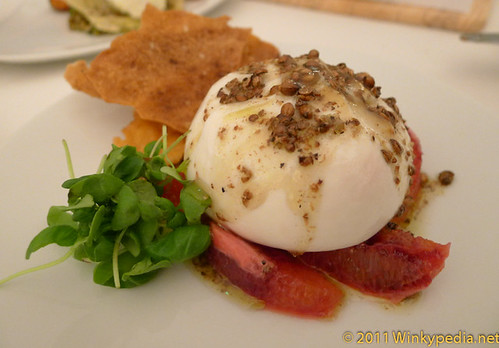Burrata at Nopi