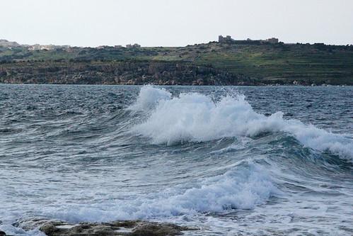 Mellieha-view-wave