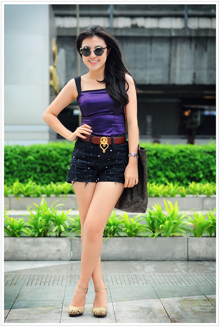 On Bangkok street...Siam Paragon, street Portrait #51