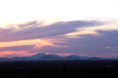 Purple Sonoran sunset