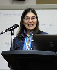 Ann Waters Bayer at the AgriGender 2011 workshop