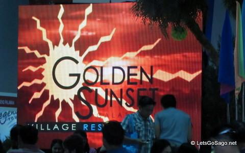 Golden Sunset Booth