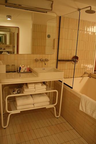 the standard bathroom