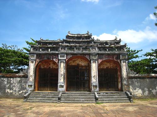 temple hue, vietnam