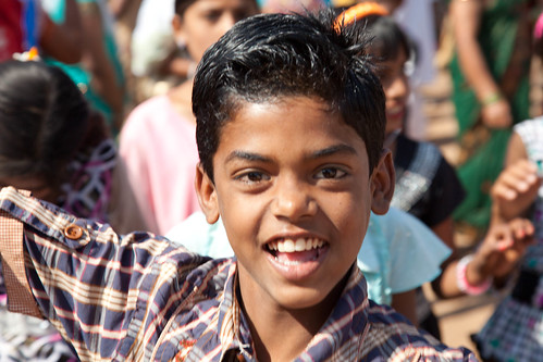 Boy in Bishrampur