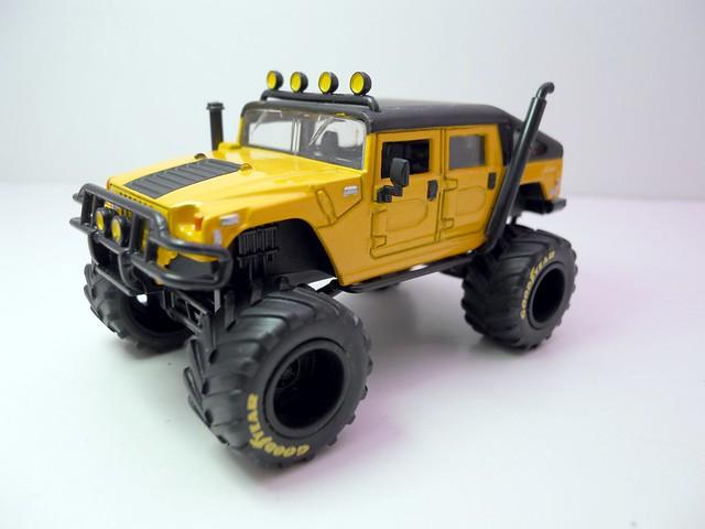 jada toys bigtime 4 wheelin 2006 hummer h1 (2)