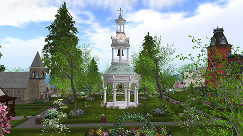 Calas Galadhon - Designing Worlds's secret Valentine location! Photographed by PJ Trenton