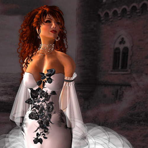 Fashion for Life - Orage Creations - Flowers! (detail)