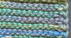 Back of Flat Simple Stitch