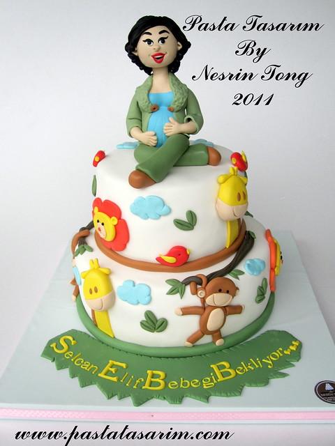 SELCAN'S BABY SHOWER CAKE