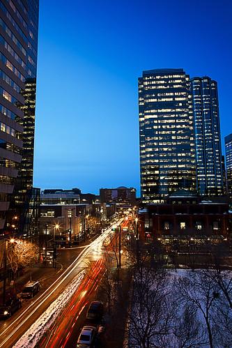 Edmonton Twilight Rush-Hour