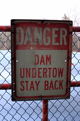 That dam undertow, gets you every time.