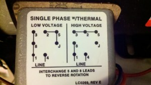 Help wiring baldor 1hp   BladeForums