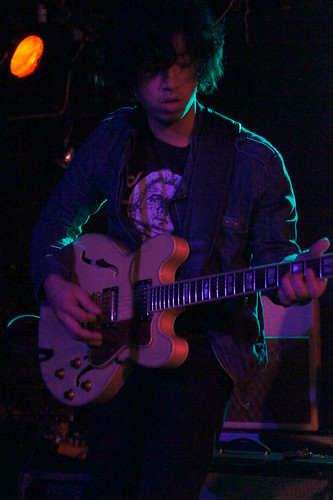 Guitarist Michael Sue-Poi of The Static Jacks