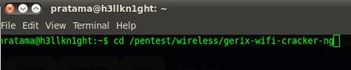 Install Gerix Wi-fi Crack di Ubuntu 10.04