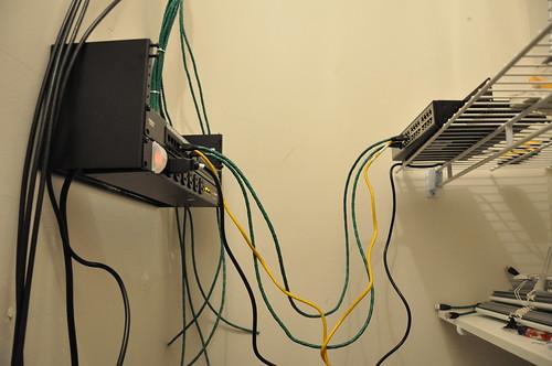 Coaxial Wiring Closet